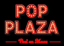 Logo PopPlaza Peel en Maas